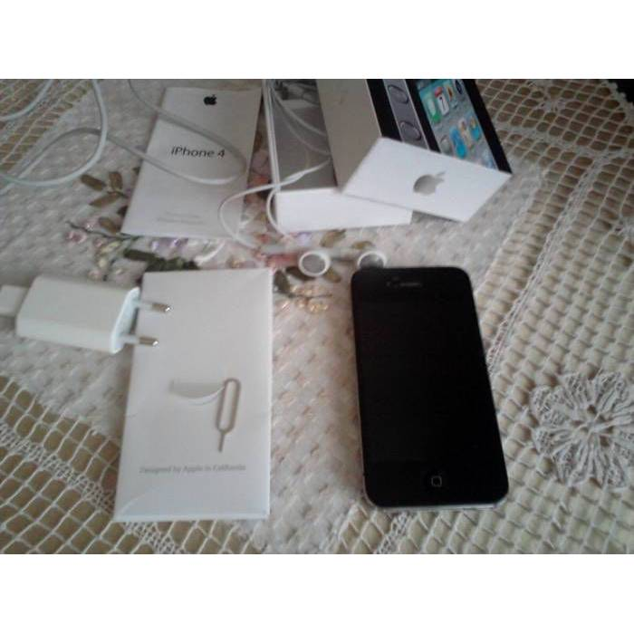 APPLE iPHONE 4 16 GB S�YAH TEM�Z KVK GARANT�L�