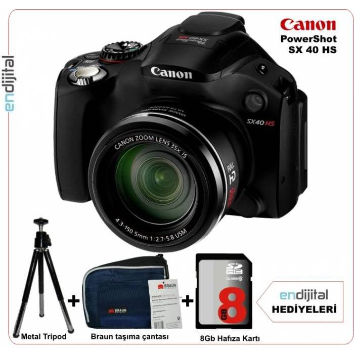 Canon Powershot SX40 HS 12.1 MP 35x Zoom