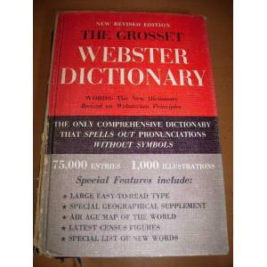 the grosset webster dictionary 1966