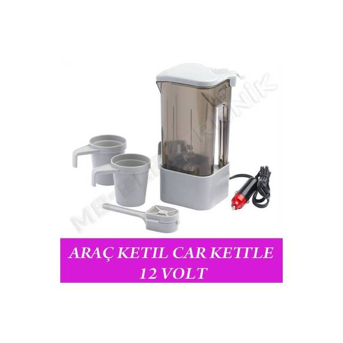 ARA� KETIL CAR KETTLE 12 VOLT SU ISITICI