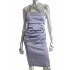 SUZI CHIN ONE SHOULDER LAVENDER DRESS $168