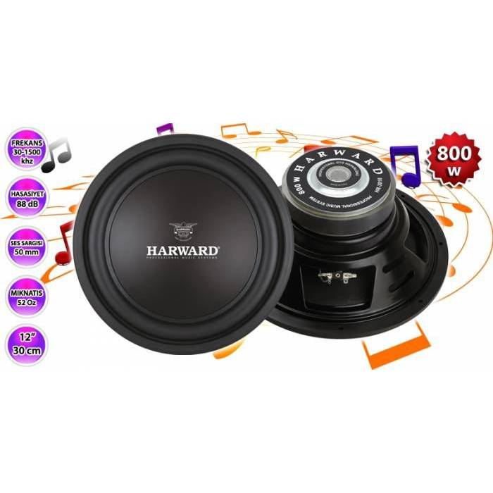 HARWARD HR-3010 Oto Subwoofer