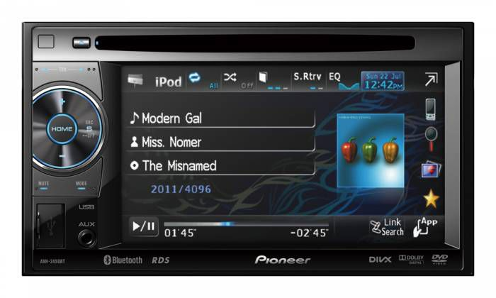 Pioneer AVH-2450BT  multimedya double oto teyp
