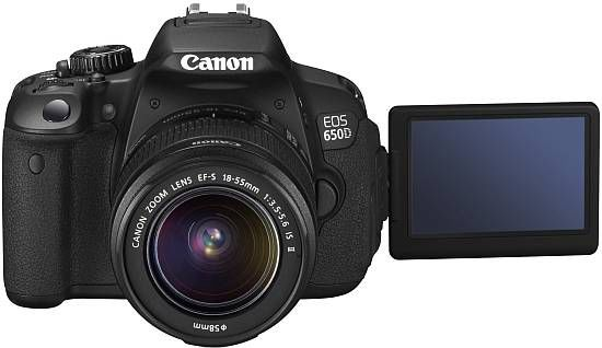 CANON EOS 650 D 18-55 IS II KIT * YEN� MODEL *