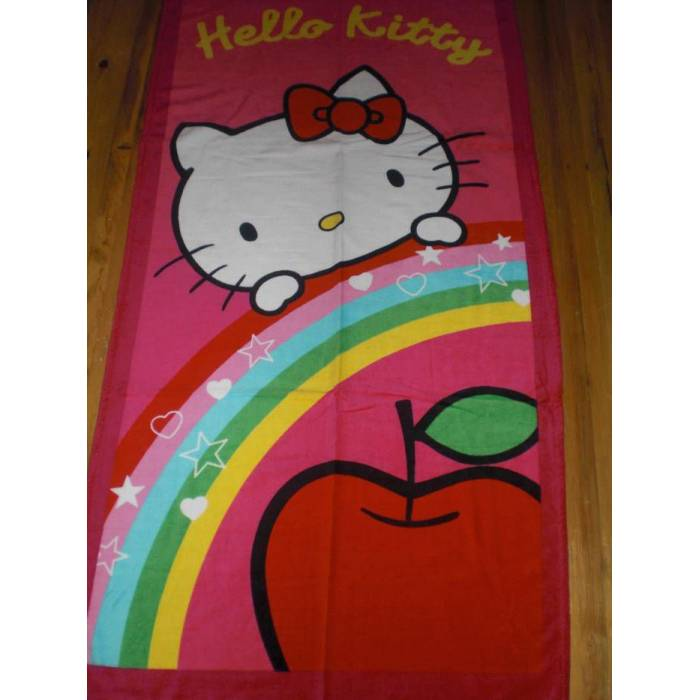 HELLO KITTY PLAJ HAVLUSU 75*150 CM-NEW -2011