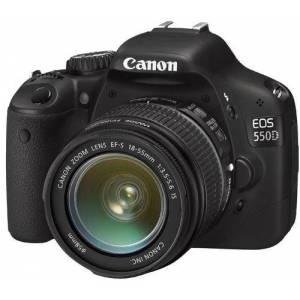 Canon EOS550D 18-55 IS Lens 18 mp SLR Foto Mak.