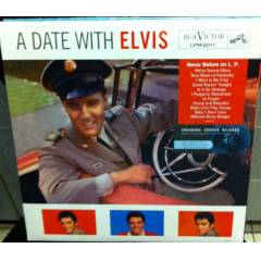 ELVIS PRESLEY A DATE WITH ELVIS  SIFIR 180 GR