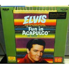 ELVIS PRESLEY - FUN IN ACAPULCO  SIFIR 180 GR