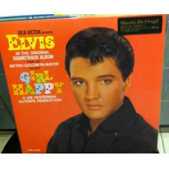 ELVIS PRESLEY - GIRL HAPPY   SIFIR 180 GR