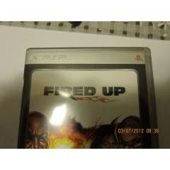 fired-up  psp oyun