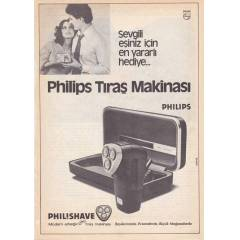 PH�L�PS TRA� MAK�NASI REKLAMI-1980'LER