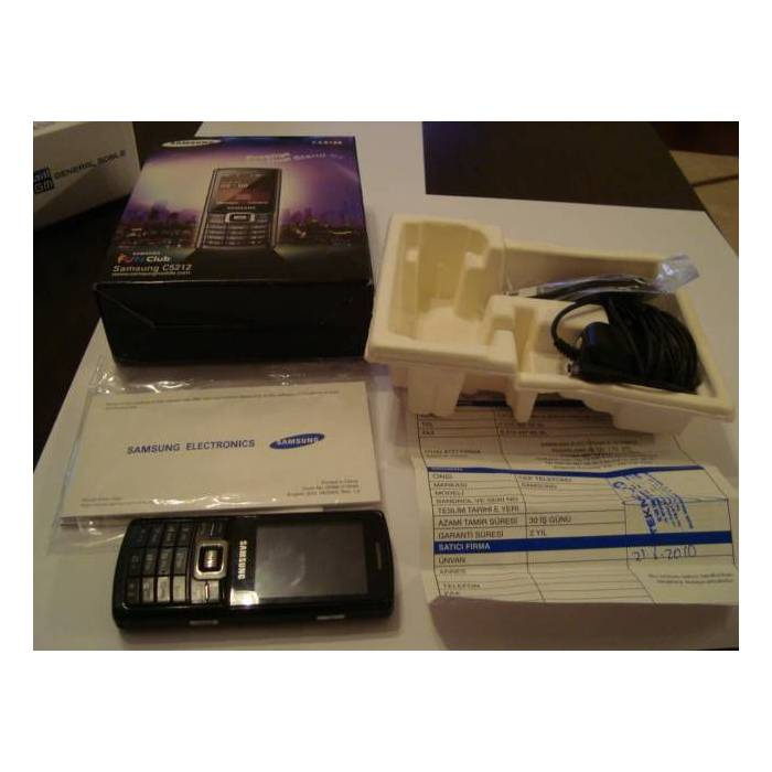 SAMSUNG C5212 -��FT SIMLI ��FT ��LEMC�-F�YAT�ND�