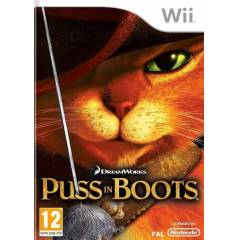 NINTENDO WII PUSS IN BOOTS %100 PAL