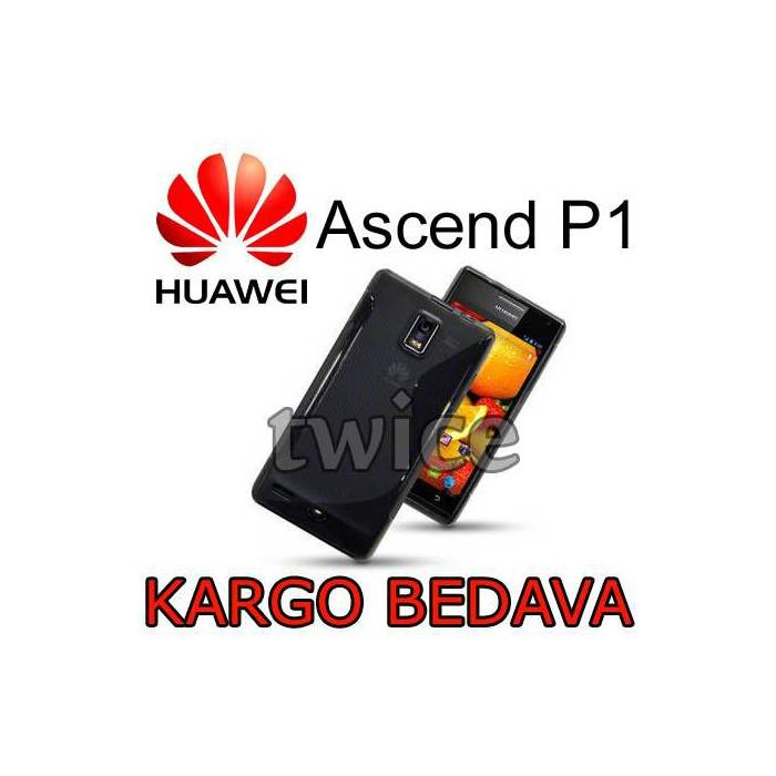 Huawei Ascend P1 U9200 K�l�f TPU + 3  Sticker