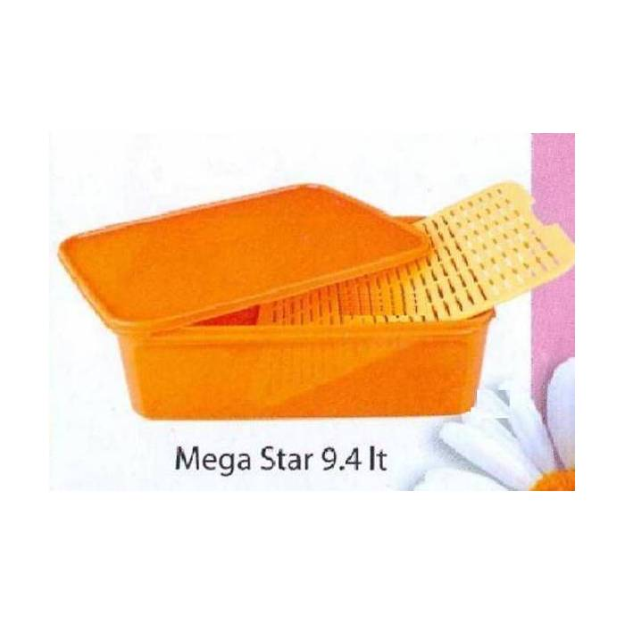 TUPPERWARE MEGA STAR 9.4 LT IZGARALI