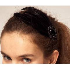 LIPSY FEATHER HAIR CLIP T�YL� SA� AKSESUARI