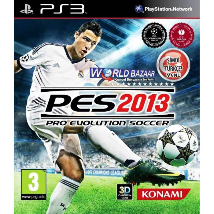 PES 2013 3D T�RK�E PS3 OYUN