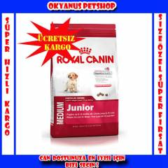Royal Canin Medium Junior K�pek Mamas� 4 Kg