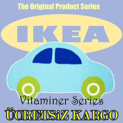 IKEA Vitaminer �OCUK ODASI HALISI 2 MODEL �E��T