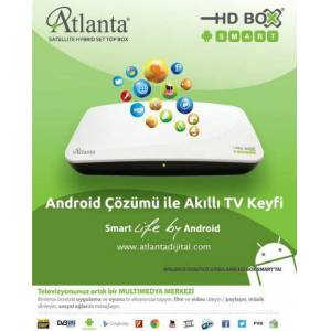 ATLANTA SMART ANDRO�D BOX FULL HD SERVERLI