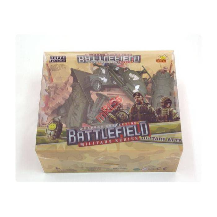 OYUNCAK ASKER SET� BATTLEF�ELD