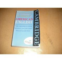 CAMBRIDGE DICTIONARY OF AMERICAN ENGLIH ...TR�N