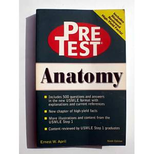 PRETEST ANATOMY - ERNEST W. APRIL