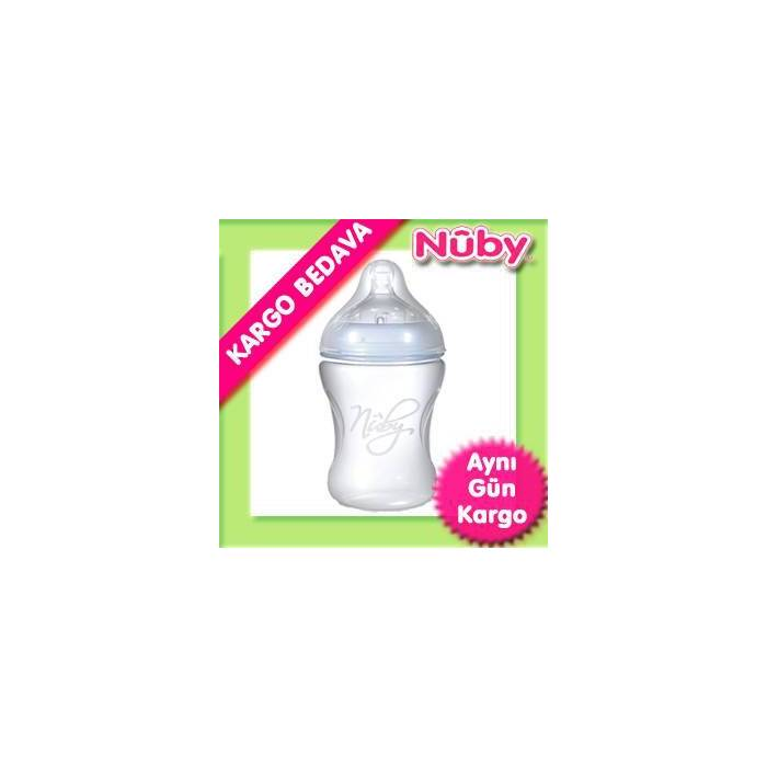 Nuby Do�al Dokunu� Biberon (YAVA� AKI�) 240 ML