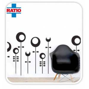 Ratio Halkalar Duvar Sticker Model T7004