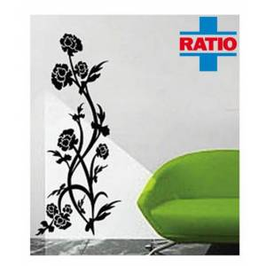 Ratio Rose Duvar Sticker Model No: T8027