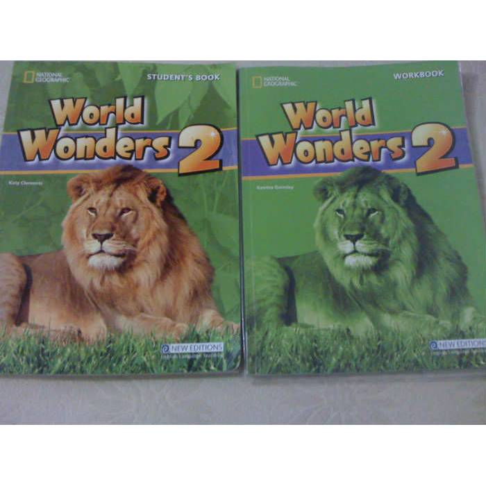WORLD WONDERS 2 STUDENT'S VE WORKBOOK 2 KITAP