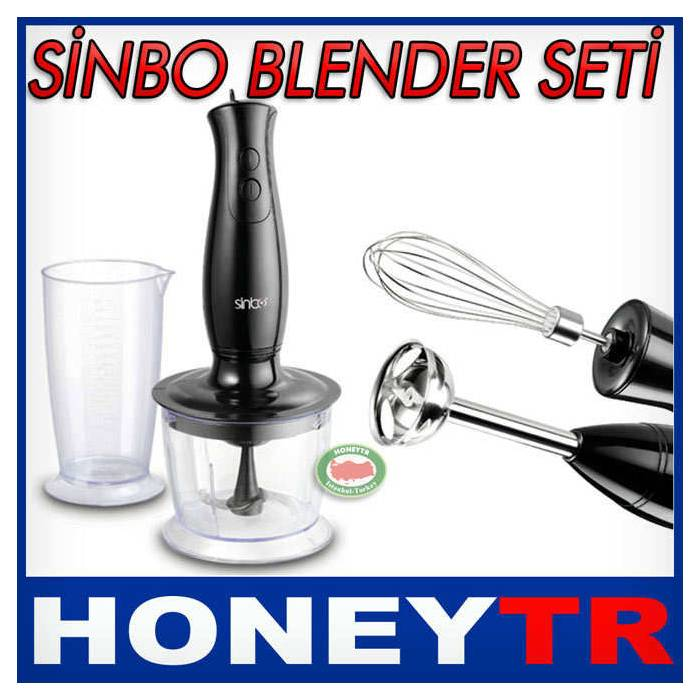 S�NBO SHB-3059 BLENDER SET� 500 ML �L�EKL� KAP