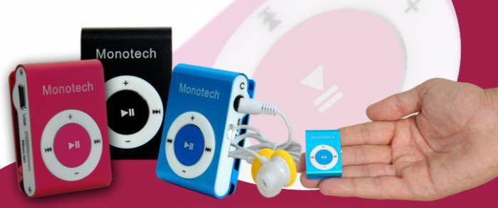 MONOTECH MP3 PLAYER+ KULAKLIK +USB +KUTUSUNDA