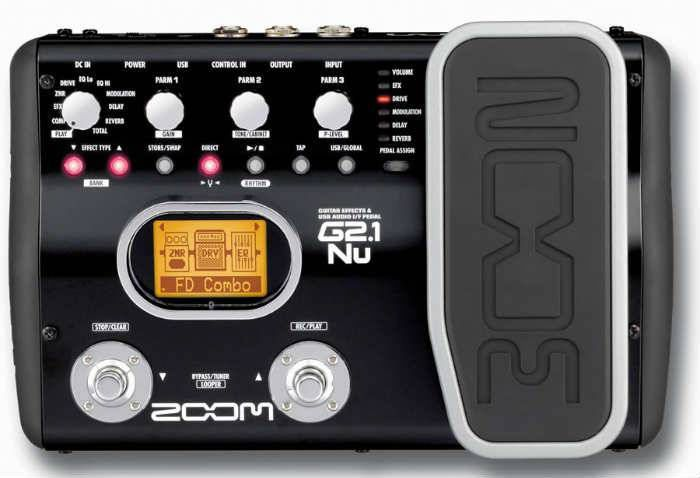 ZOOM G2 1NU GUITAR EFFECTS PEDAL