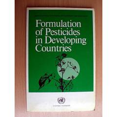FORMULATION OF PESTICIDES IN DEVELOPING COUNTRIE