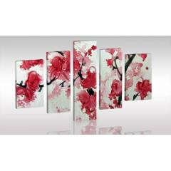 RED 5 PAR�ALI Canvas Tablo