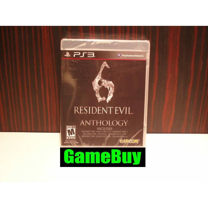 Resident Evil 6 Anthology PS3 SIFIR �R�N