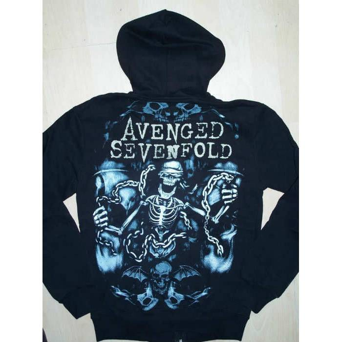 Avenged Sevenfold Fermuarl� Kap�onlu Sweat