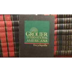 Grolier International Americana encyclopedia msc
