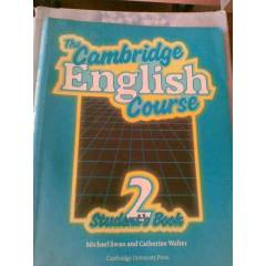 THE CAMBRIDGE ENGLISH COURSE 2 STUDENT'S BOOK
