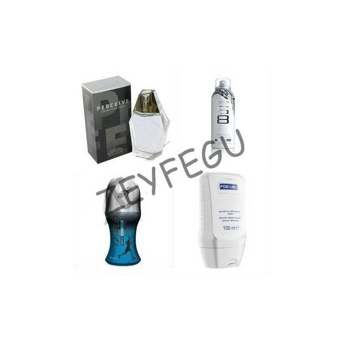 AVON PERCE�VE FOR MEN 4 L� SET KARGO BEDAVA