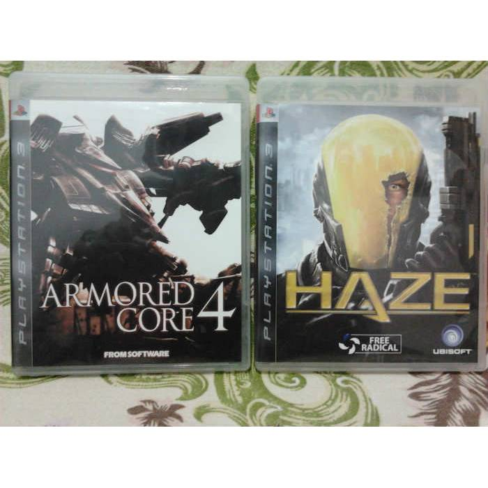 Haze + Armored Core 4 / 2*PS3 Oyun - TERTEM�Z