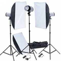 3 x 120 w FLA� SOFTBOX l� SET