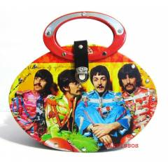 THE BEATLES TASARIM �ANTA-ROCK METAL