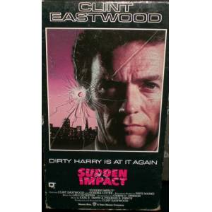 VHS KASET S�NEMA CLINT EASTWOOD DIRTY HARRY