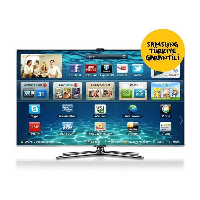 SAMSUNG 40ES7000 FULL HD 3D LED LCD SMART TV