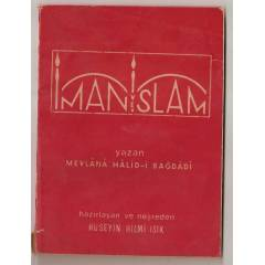 �MAN VE �SLAM- MEVLANA HAL�D-� BA�DAD�