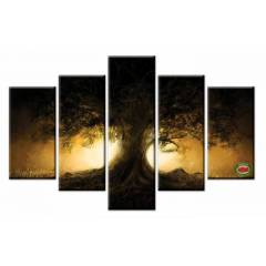150x100cm B�Y�K BOY 5 PAR�ALI CANVAS TABLO D0021