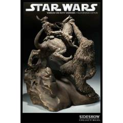 Sideshow Ambush on Hoth  Star Wars Faux Bronze