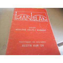 �MAN VE �SLAM MEVLANA HAL�D-� BA�DAD�